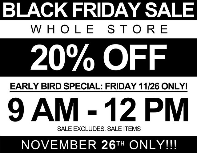 BLACK FRIDAY ONLY 2010 copy
