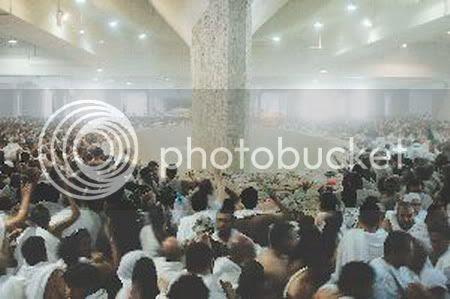 Haji,Lempar Jumrah