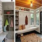 Wood Entryway Benches with Shoe Storages : Home Improvement | Home ...
