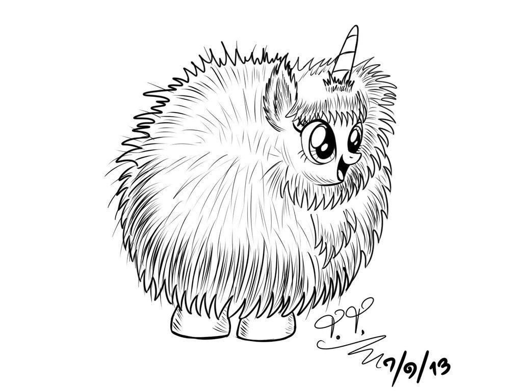 Printable Unicorn Coloring Page - Coloring Home