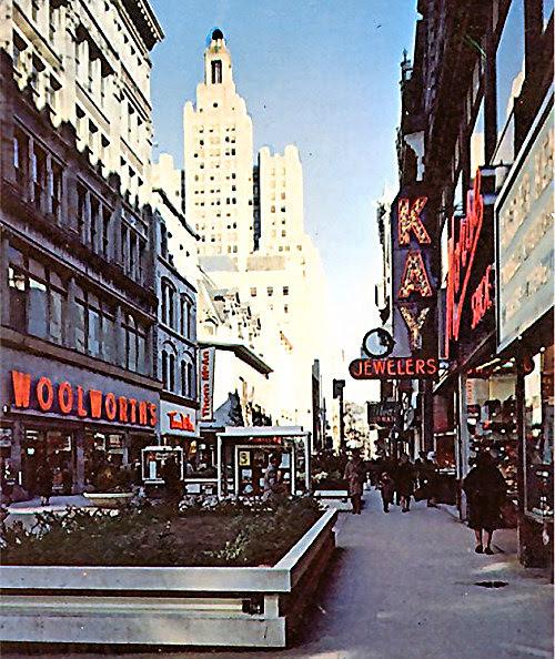Westminster Street, Providence, RI, late 1960s?