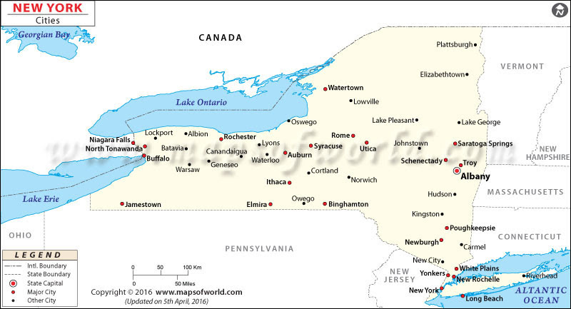 Cities In New York State List Of New York Cities