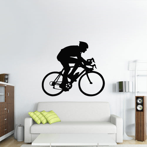 Home Furniture Diy Wall Decals Stickers Mountain Bike Set Of Six Silhouettes Wall Art Decal Stickers Bortexgroup Com