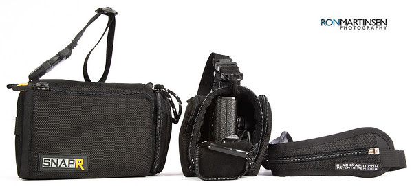 Black Rapid SnapR Camera Bag + Sling Strap (SnapR 35 Left, SnapR 20 Right)