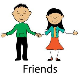 Boy And Girl Friends Cartoon Images