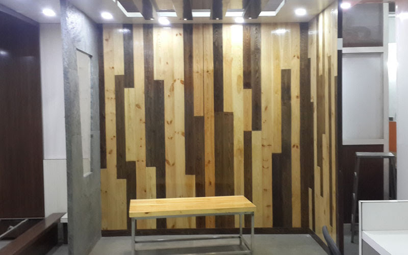 Wooden Office Partition Walls Fast Trendy Cubicle