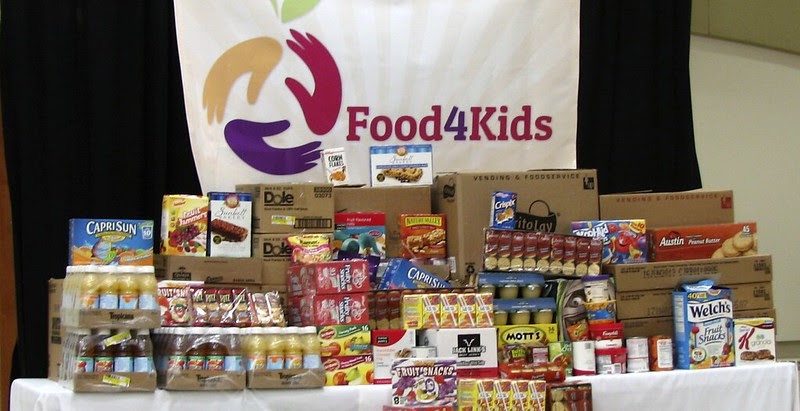 Food4Kids donation