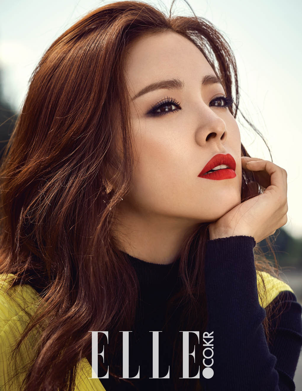 Han Ji Min - Elle Magazine October Issue '15