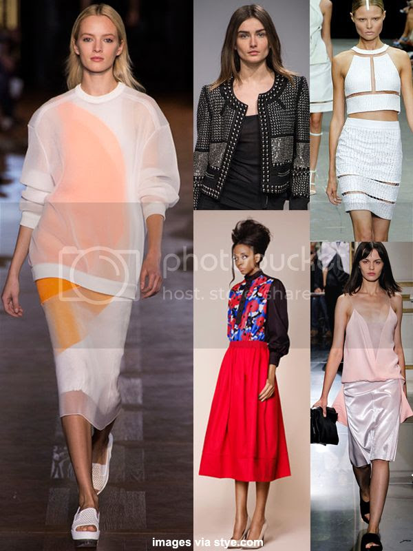 spring 2013 fashion runway trends