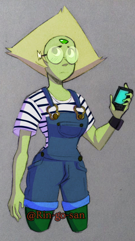 And now, it's a casual Peridot…
