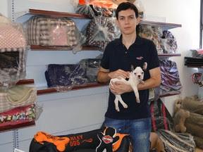 Fabiano Loures investiu cerca de R$ 2 milhões no mercado pet. (Foto: Alex Araújo/G1)