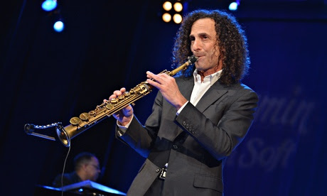 Saxophonist Kenny G, who is a big star in China