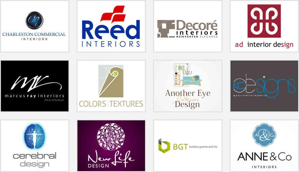 Intererior Design Logos