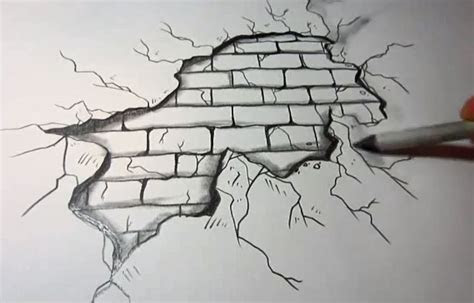 brick wall sketch google search drawings pinterest