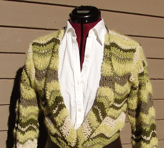 Crochet By Faye Rochelle Ripple Jacket