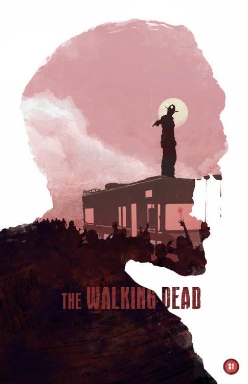 The Walking Dead-season 1 by BigBadRobot http://etsy.com/shop/bigbadrobot