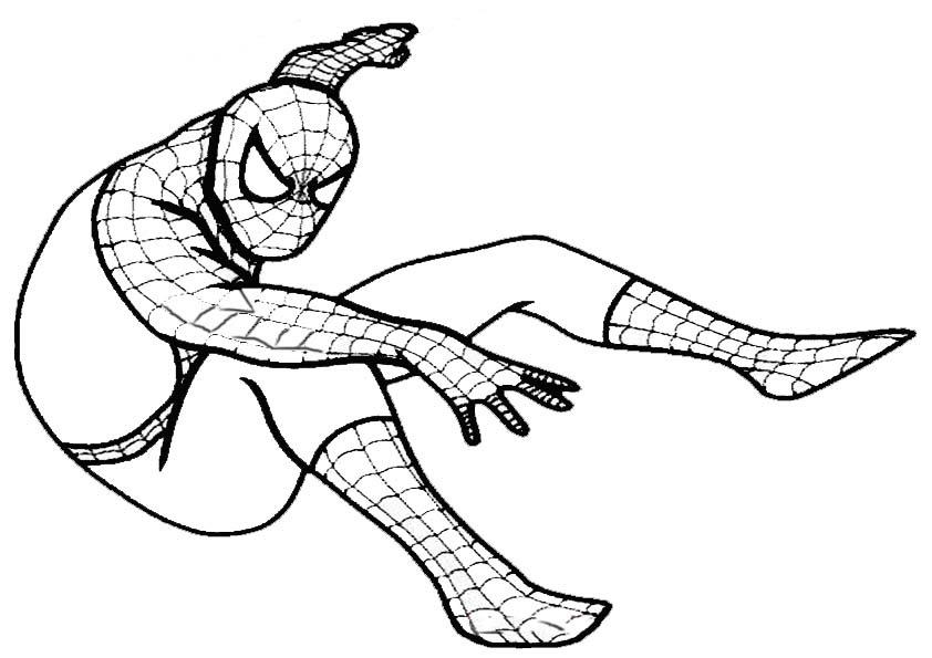 malvorlagen spiderman zum ausmalen  zeichnen und färben