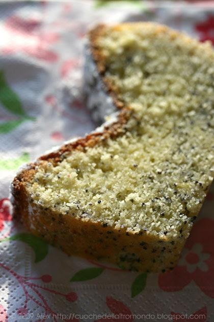 Cake limone e semi di papavero