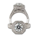 Pagoda Style Diamond Ring   James Breski Jewelry