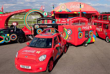 Coca-Cola: rolls out the 'beat fleet'
