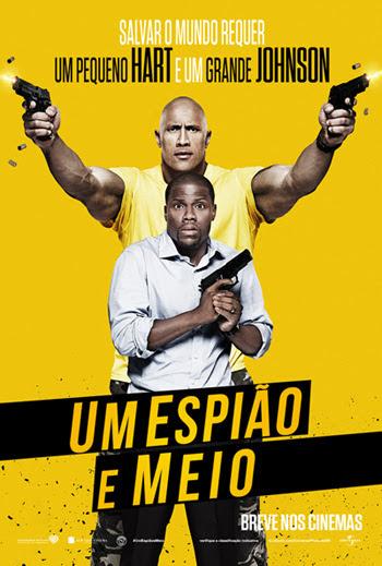Um Espião e Meio : Poster