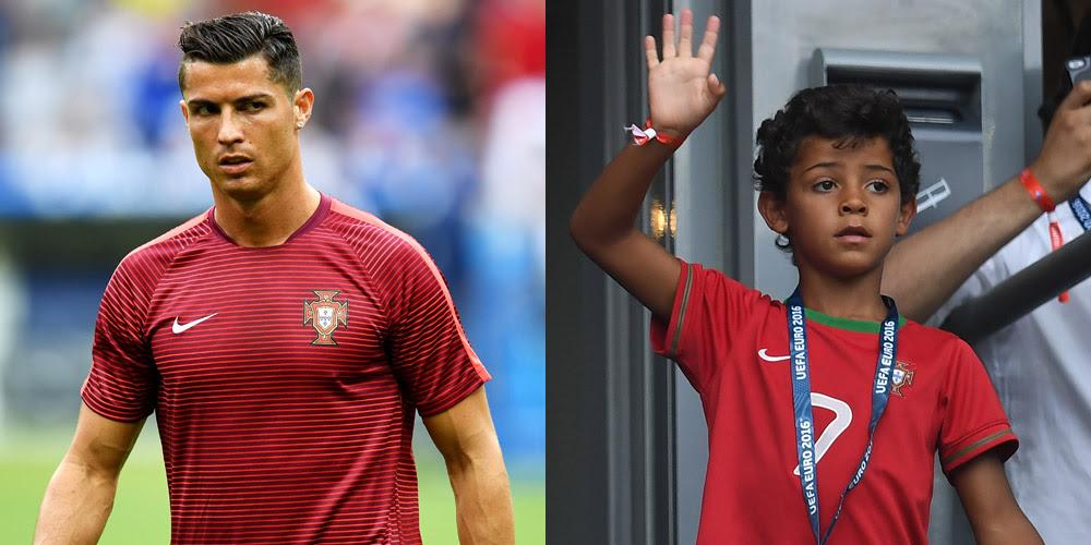 Cristiano Ronaldo Jr Mom Name