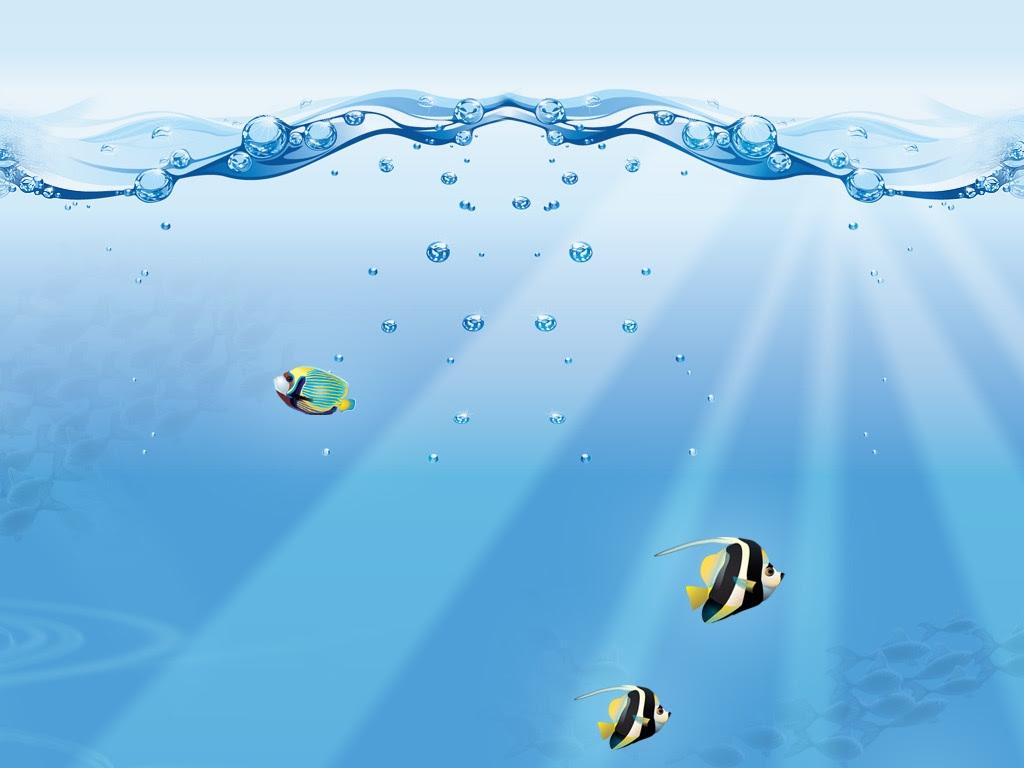 Vector - Underwater Fish Wallpaper - iPad iPhone HD ...