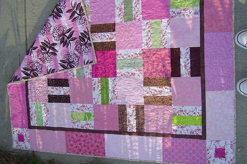 Baby A's Quilt by basketcasejoy