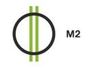 Magyar 2 HD logo