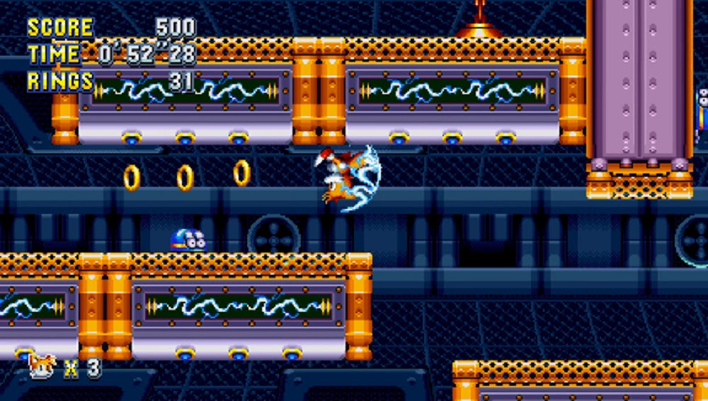 Here's a slow-ish look at a new-ish Sonic Mania level screenshot