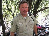 Capitán Kevin Mayer, Servicio Forestal de Estados Unidos.