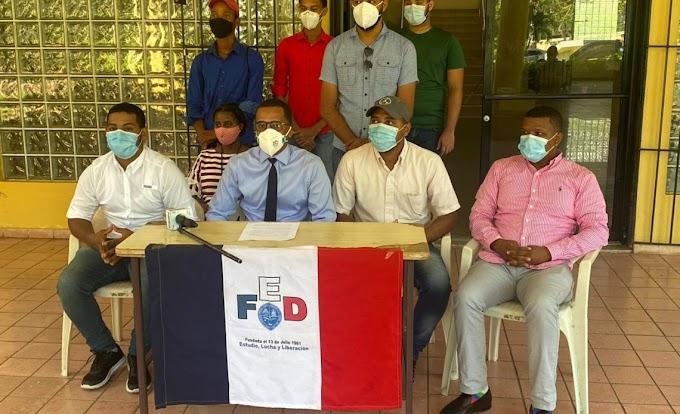 FEDERACIÓN ESTUDIANTES DENUNCIA EN UASD NO HAY CONDICIONES PARA DAR INICIO A LA DOCENCIA