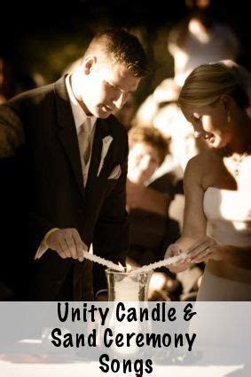 Unity Candle Music and Sand Ceremony Songs   Wedding