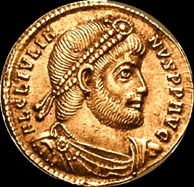 Monnaie à l'effigie de Julien l'Apostat (330 ; 26 juin 363)
