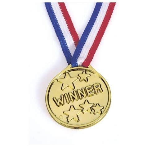 Culpitt Plastic Gold Coloured Winners Medal Cake Cupcake