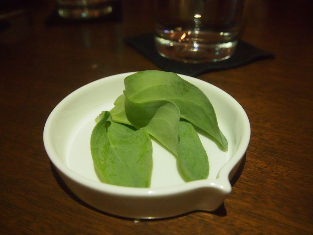 photo Chefs Table by Chef Stephan Tras Street oyster leaf.jpg