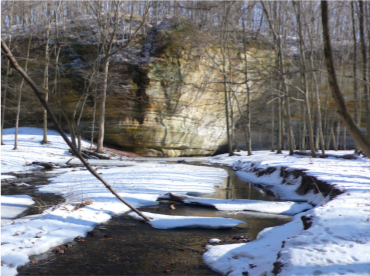 Illinois Canyon at SRSP
