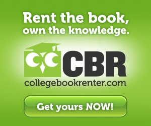 Rent your textbooks and you could win an iPad!