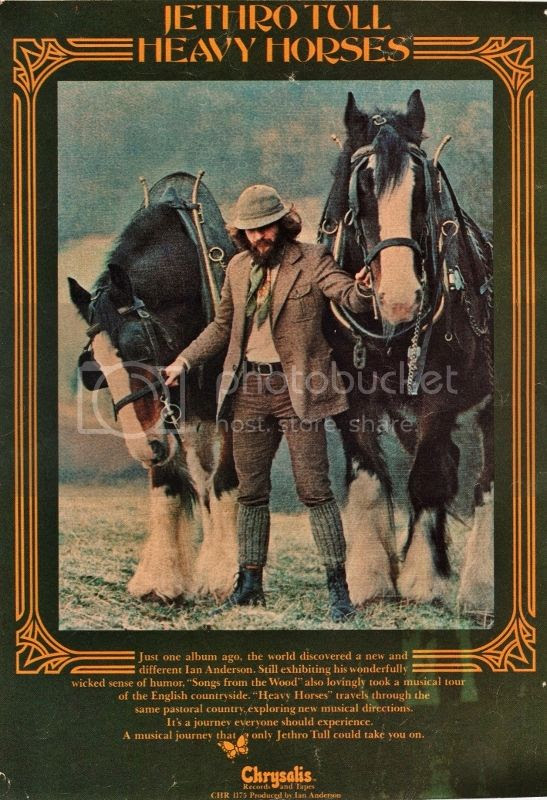 Image result for jethro tull heavy horses images