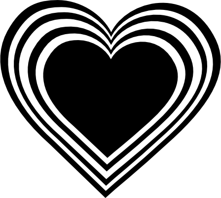 Free Black And White Heart Images Download Free Clip Art Free Clip