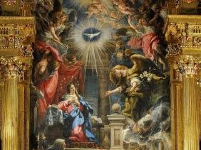 Retablo Mayor con La Anunciación