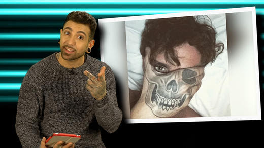 Stephen Bears Ridiculous Skull Hand Tattoo Slammed By Just Tattoo