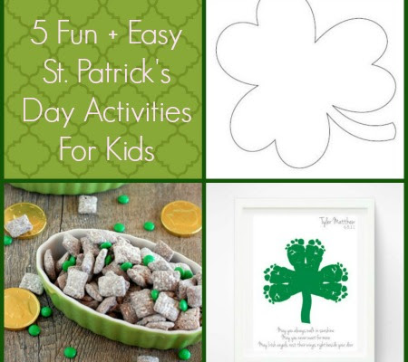 5 Easy St Patricks Day Crafts For Kids Chaunie Brusie