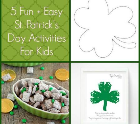 5 Easy St Patricks Day Crafts For Kids Chaunie Brusie