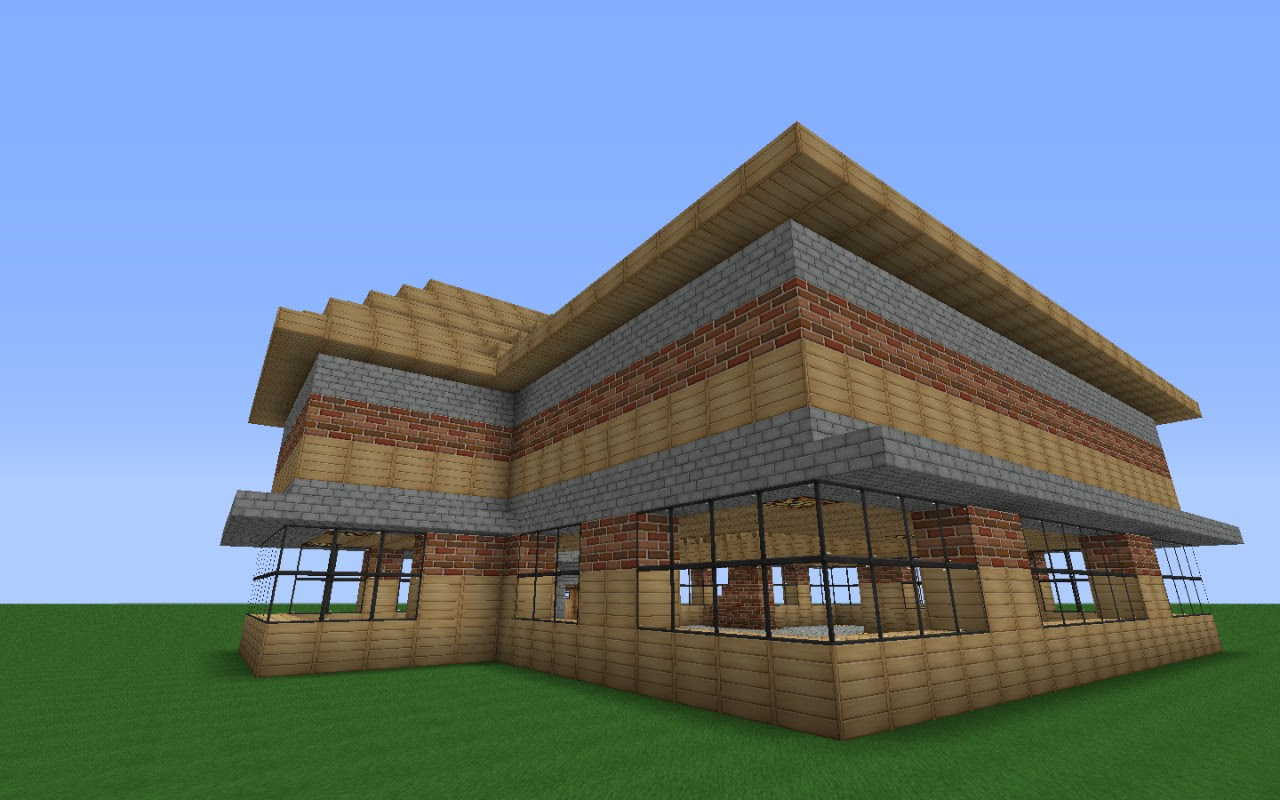 Two Story Mansion Minecraft Project