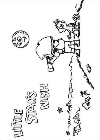 Dibujo De Pequeñas Estrellas Fugaces Para Colorear Dibujos Para