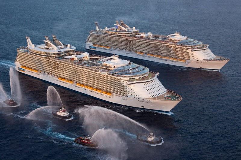 Msc Bellissima Vs Oasis Of The Seas - Cruise Gallery