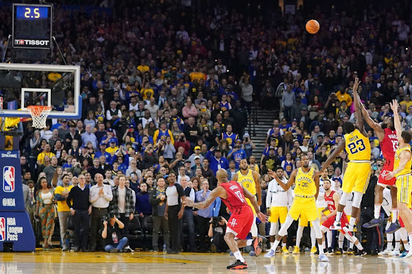 08cd7f7412be Golden State Warriors lament giving away OT game to Houston Rockets with  blown 20-point lead