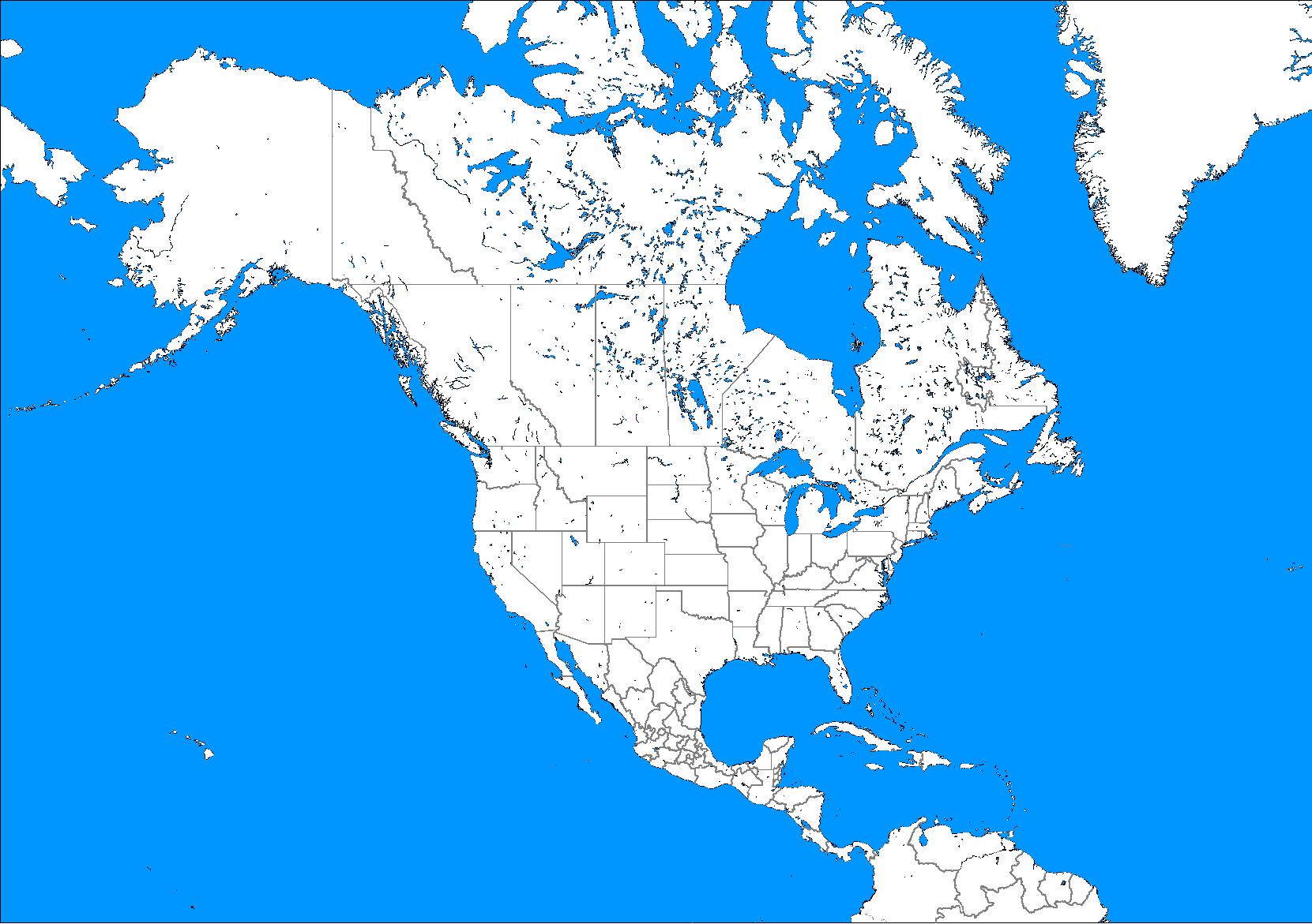 North-America-Political-Blank- ...