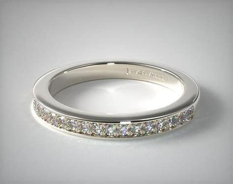 James Allen Exclusive Wedding Ring   14K White Gold   14853W14
